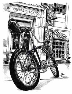 377 best the bike shop images in 2019 vintage bikes cool bicycles Choppers From 1970s schwinn school by bulldawgdude school s vintage bicycles classic bikes screen printing