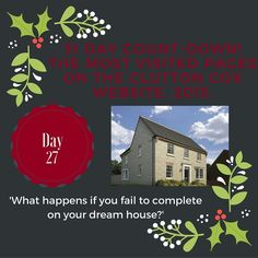 Day 27 of our 31 Day Countdown! #dreamhome #home #completion