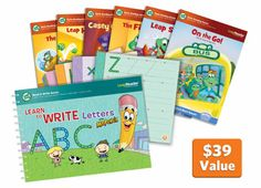 LeapReader Read and Write Book Bundle