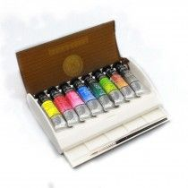 Travel Box 8 10ml Tubes Brush Sennelier L Aquarelle Watercolour