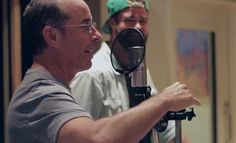 Jerry Seinfeld & @Wale in the studio discussing marriage