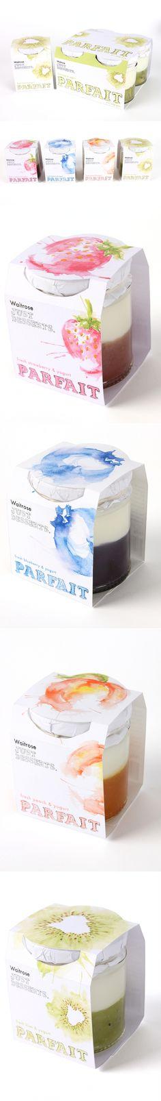 Waitrose Just Desserts Packaging Design