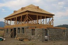 Amy & Jordan Lentz's House of Stone and Straw: Building a Stone Masonry and Strawbale House from the Ground Up.