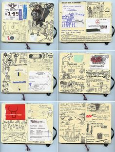 stockholm sketches by Andrea // AT Graphics!, via Flickr