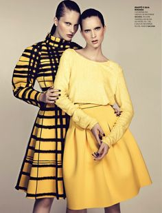 vanessa damasceno and catherine ballmann by tiago molinos for marie claire brazil