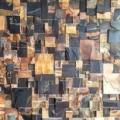 Casa pedra ferro - no filter - painel de pedra do vão central #arquitetura #architecture #revestimentos #pedraferro #stone #nofilter #p23arq