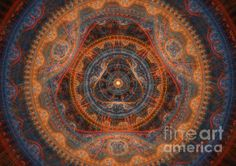 The God's Eye by Martin Capek    Martin has many digital images with gears and such that are quite exceptional!  And for sale, too!