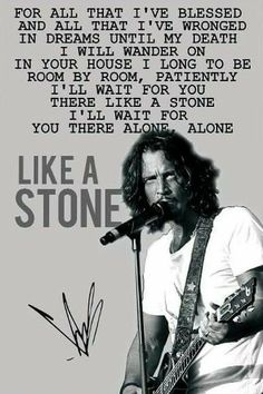 My ALL TIME favorite ❤️ song and SINGER! Say Hello To Heaven, Ill Wait For You, Temple Of The Dog, Rock N Roll Music, Lyric Quotes, Band Quotes, Pearl Jam, Glam Rock, Music Lyrics