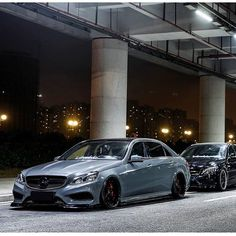 Mercedes W212  • #AccuAir • #eLevel • #AirSuspension • @dankasrz_s666 • @iacrophobia