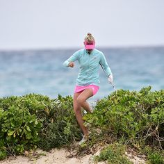 """""""Jessica Korda, after escaping the sand behind the green at No. 15. @thejessicakorda #PureSilkBahamasClassic"""""""