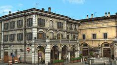 ArtStation - Italian Courtyard, Nestor Carpintero