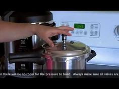 Videos of Pressure Cooking 101 Fagor Pressure Cooker, Pressure Cooker Parts, Electric Pressure Cooker, Pressure Canning, Instant Pot Pressure Cooker, Pressure Cooker Recipes, Slow Cooker, Rice Cooker, Cooking 101