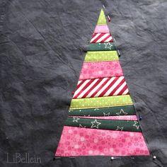 Patchworkdecke - Tutorial / Jeden-Tag-ein-Bäumchen-Decke von LiBellein - Adventskalender - Türchen Nr.11