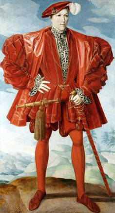 young man in red 1548 - Google Search