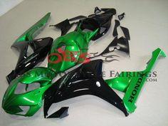 OEM Honda CBR600RR Motorcycle Fairings Ferrari 458, Oem, Honda, Motorcycle, Collection, Green, Black, Shopping, Black People