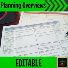 These FREE editable planning overviews are provided in a Word document to make changes easy! Stay accountable and keep your planning organised with these editable planning overviews for all learning areas. Includes an editable planning overview for English, Mathematics, Science, HASS, The Arts, Technologies and Health and Physical Education. Use them for any year or grade level. Change the heading, table layout, colours, or anything you need! (freebie, lesson plans, primary, secondary…