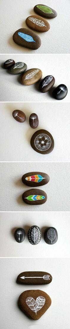 Piedra pintada - I like these!!!