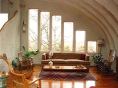 | imagery above, is section of American Dream of Quonset Hut   notice the divided wall