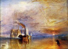 ターナー 1838 戦艦「テレメール」 ロンドン ナショナル・ギャラリー