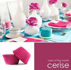 color of the month :: cerise