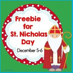 Free+St.+Nicholas+Day+in+the+Netherlands+Dec.+5-6 This+printable+includes+the+following+pages,+based+on+the+author's+experience+living+in+the+Netherlands.++  1+page+black+and+white+informational+text/coloring 1+page+in+color+informational+text+ 1+page+student+work+page+Venn+diagram 1+page+teacher+answer+key+Venn+diagram 1+page+bookmarks+in+color 1+page+bookmarks+in+black+and+white 2+pages+count+and+graph+holidays+around+the+world Carolyn+Wilhelm Wise+Owl+Factory