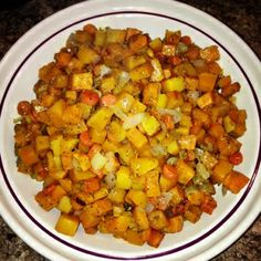 Consider the leaf TURNED.: Roasted butternut squash, carrots and sweet potato recipe