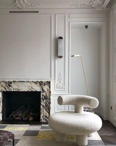 Fireplace Decor, Interior Design Principles, Fireplace Design, Furniture, Modern Furniture, Elle Decor, Interior, Apartment Design, Home Decor