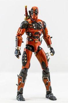 Ninja Deadpool (Marvel Select) Custom Action Figure