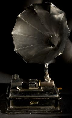 Edison 'Opera' School Phonograph by NFSA Australia, via Flickr