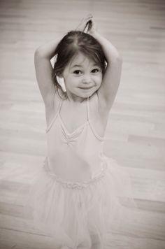 Natalie Newman Photography, future ballerina, black and white