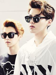 Kris and Luhan