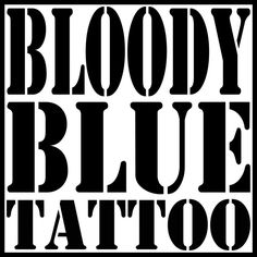 #bloodyblue #tattoo