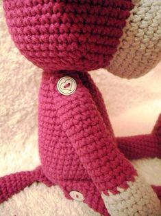 Háčkovaná opička na přání (30 cm) / Zboží prodejce Paaia | Fler.cz Winter Hats