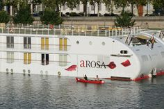If I were to cruise the Rhône and Saône again, would I choose to do it on A-ROSA Stella for the second time or another river cruise company? Cruise Companies, Southern France, Lyon France, River, Explore, Cruises, Building, Facebook, Twitter