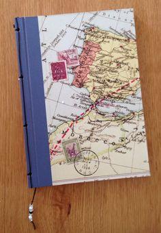Cuaderno mapa por delante