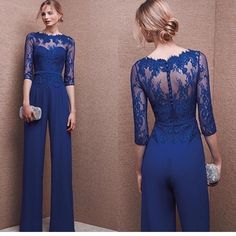New Pants Suit Mother Of The Bride Dress jacket Chiffon Formal Gowns Plus Size. 2017 Long Sleeve Mother Of The Bride Dresses Jacket Pants Suits Custom Chiffon. Sleeve Mother Of The Bride Dresses Wedding Party Formal Beading Gowns Custom. Wedding Guest Jackets, Jumpsuit For Wedding Guest, Wedding Guest Gowns, Dress Wedding, Trendy Dresses, Blue Dresses, Formal Dresses, Formal Pant Suits, Formal Jumpsuit