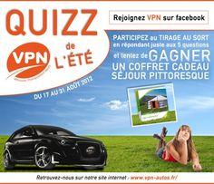 CONCOURS VPN - Tentez de gagner un séjour ! Merci à tous de votre participation.