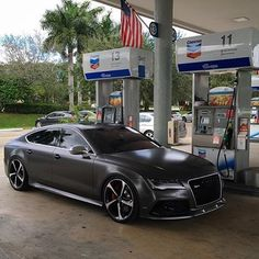 Blacked out Audi looking mean @rs_vsn