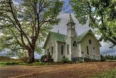McCabe Church, Yamhill Valley, OR - photo by Steve Power