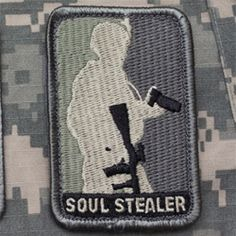Soul Stealer - Photographer Morale Velcro Patch Velcro Patches, Cool Patches, Big Girl Toys, Toys For Girls, Military Rule, Morale Boosters, Tactical Patches, Military Insignia, Tactical Clothing