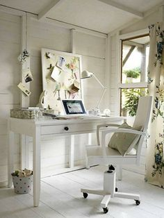 Pretty Home Office Work Style Fashion Extravagant Homes Simple House Design Cottage