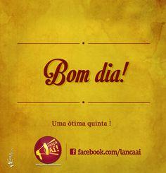 Bom dia! #2 By: Thomaz Amora
