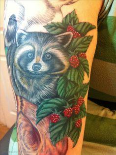 Rocky Tattoo, Gourds, Tattoo Inspiration, I Tattoo, Raccoons, My Love, Tattoo Ideas, Rocks, Art