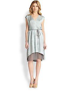 Elie Tahari Silk Dorene Dress