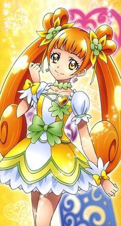 As worm and bright as the sun ☀️ Anime Puppy, Smile Pretty Cure, Doki, Hokusai, Manga Cute, Glitter Girl, Glitter Force, Old Anime, Fairy Princesses