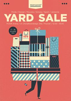 'a selection of yard sale posters' | 2015