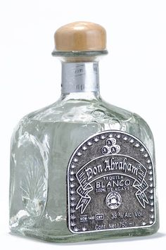 """Tequila Blanco: White or Silver (plata) tequilas are clear and not influenced by the aging process, although some producers """"rest"""" their tequilas in wood or stainless steel tanks for up to forty-five days before bottling. 100% agave silver (plata) tequilas retain the natural sweetness of the agave often missing in aged spirits. A fine silver tequila is as versatile as vodka, they are excellent for sipping, shooters and mixed drinks.  http://www.cafecoyoteoldtown.com/tequilas.html"""