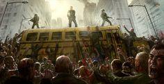 Zombie Horde by JoakimOlofsson on deviantART