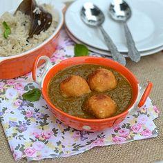 Palak Kofta Curry (Spinach Kofta Curry)