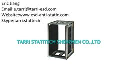 Anti Static Container ESD Magazine Rack 10^5 - 10^8 Adjustable By Gear Track